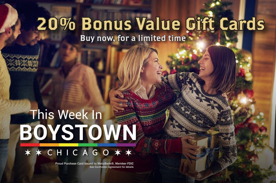 Final Days for Boystown Gift Card Sale