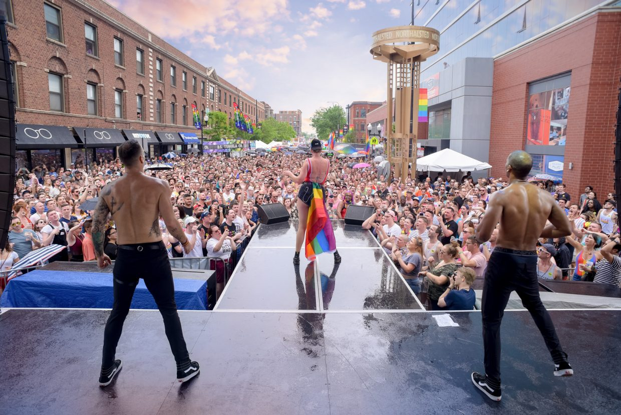 pridefest northalsted pride parade chicago concert betty who lakeview boystown