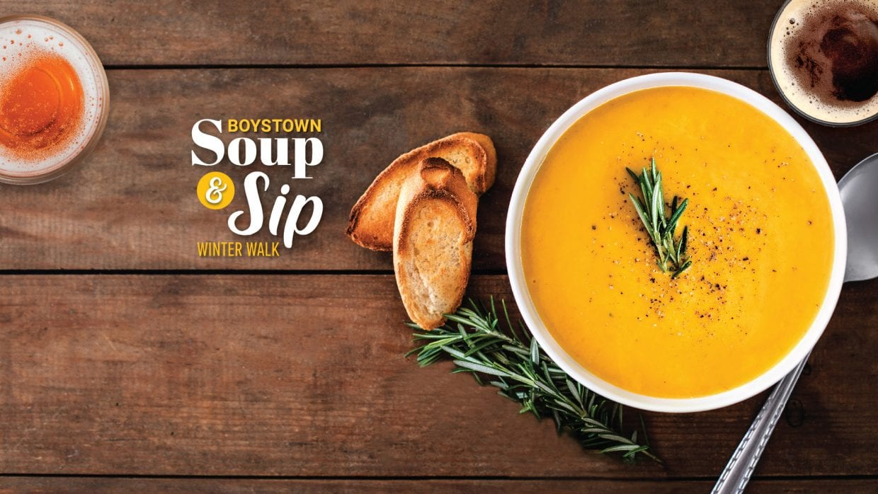 boystown soup and sip