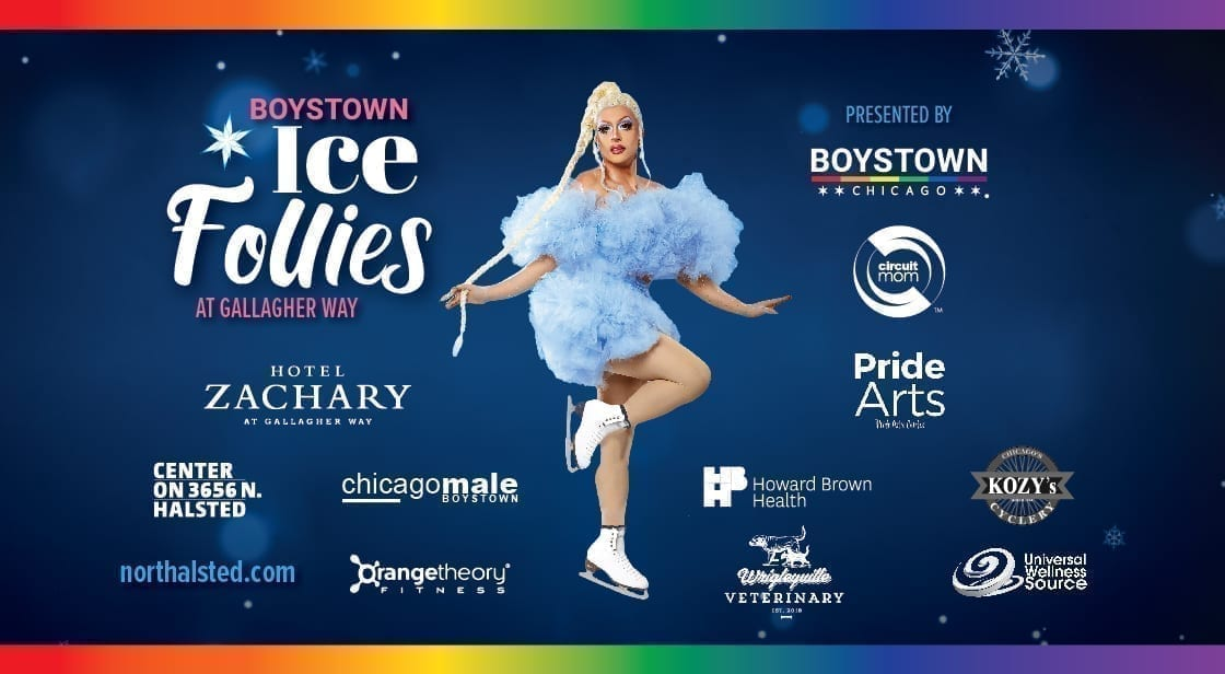 boystown ice follies event poster