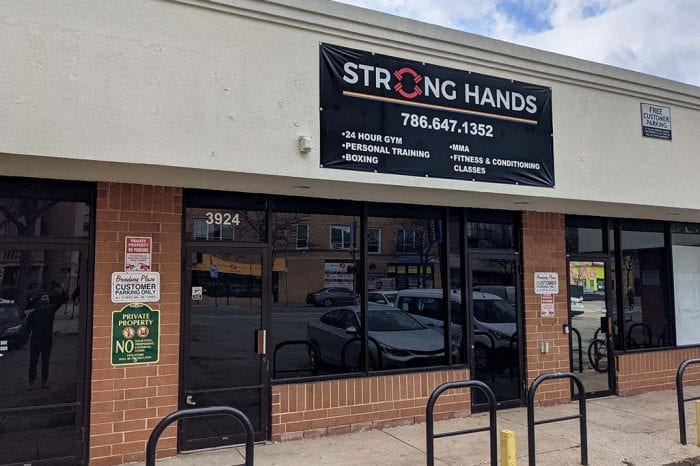 Strong Hands Gym