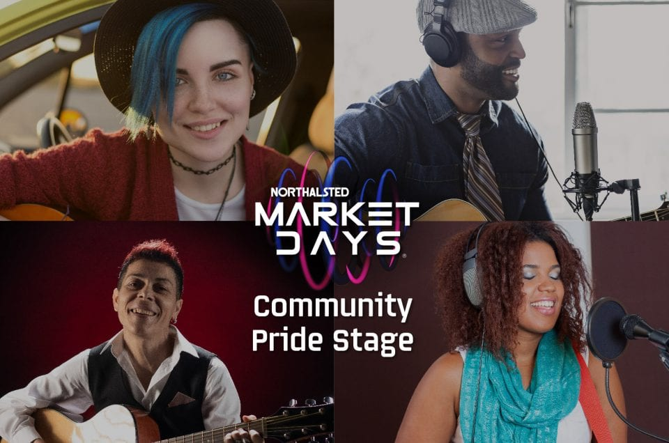 northalsted market days community pride stage lgbtq artists performers musicians new august chicago summer festival event