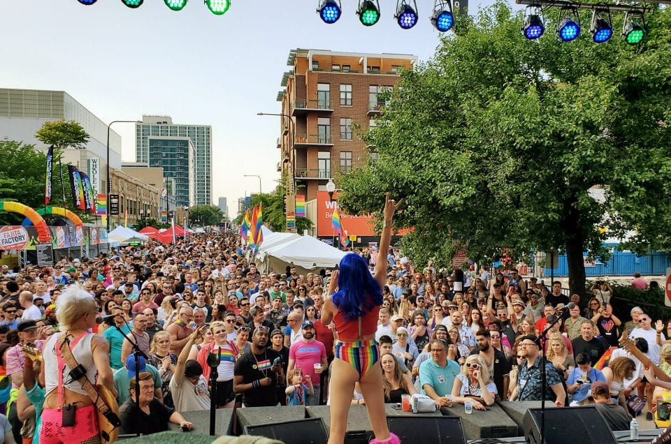 chicago pride fest lgbtq gay lakeview northalsted boystown