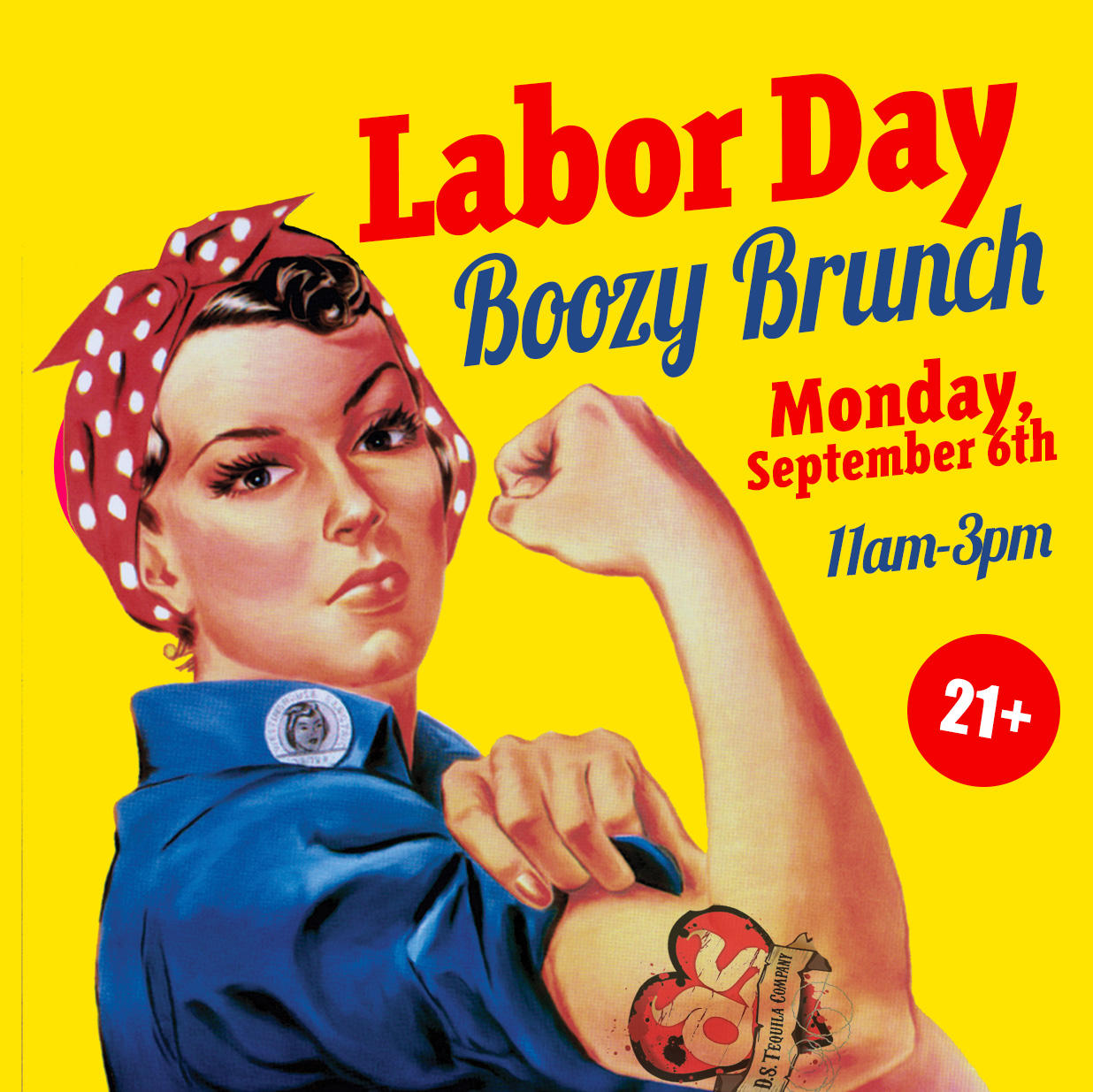 ds tequila labor day brunch chicago northalsted 2021