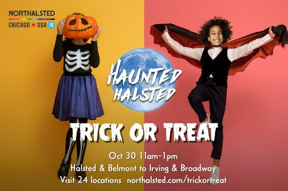 Haunted Halsted Trick-or-Treat